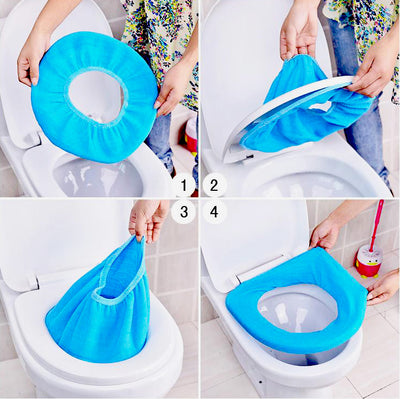 TOILET SEAT CLOTH COVER – WARM TOILET SEAT COVERS