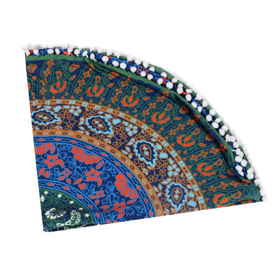 BOHEMIAN THROW PILLOW CASE – MANDALA FLOOR CUSHION COVER HOME DECOR