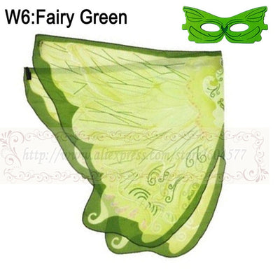 HALLOWEEN FAIRY WINGS AND MASK