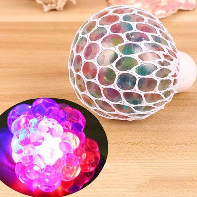 Exploding Colorful Balls Stress Ball With LED Lights – Stress Balls