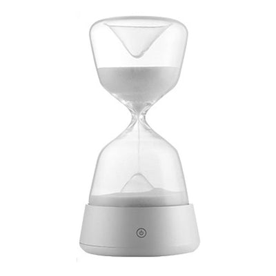 SAND TIMER – SAND HOURGLASS NIGHT LIGHT – BESIDE SAND LED LAMP