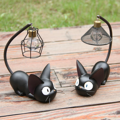 BLACK CAT NIGHT LIGHT – KITTY NIGHT LIGHT LAMP DECORATION