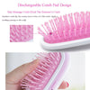 PORTABLE HAIR STRAIGHTENER IONIC BRUSH