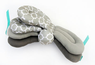 ADJUSTABLE BREASTFEEDING BABY PILLOW – WASHABLE COVERS