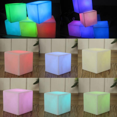 COLOR CHANGING CUBE – CUBE LED LAMP – COLORFUL LED CUBE LIGHT