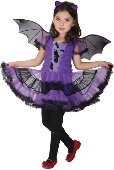 BATGIRL HALLOWEEN COSTUME FOR GIRLS