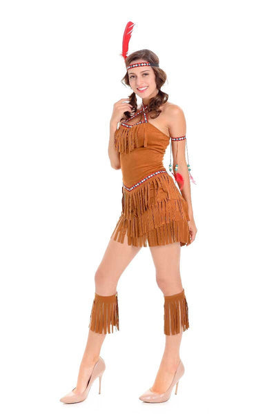 SEXY INDIAN COSTUME – NATIVE AMERICAN COSTUME WOMENS