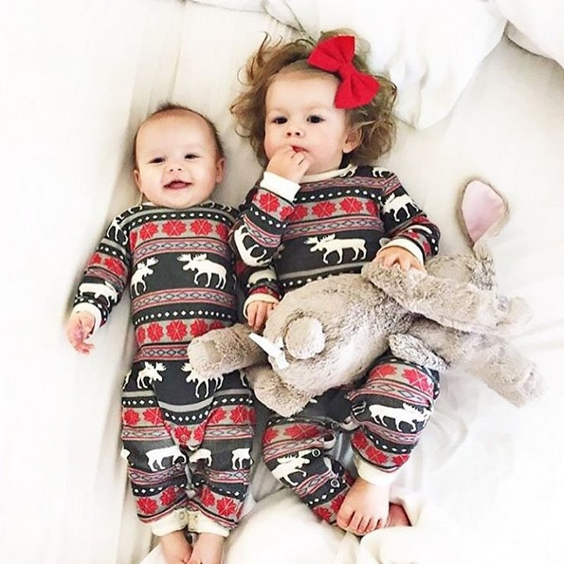 Matching Family Christmas Pajamas.Matching Family Christmas Pajamas Moose Family Pajama Sets