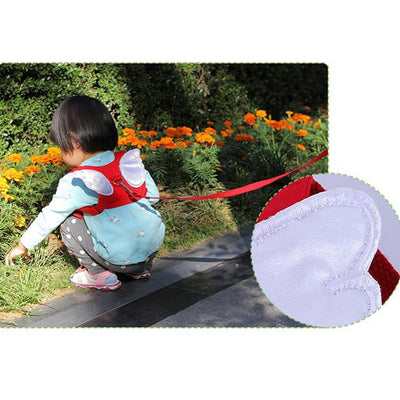 ANGEL WINGS KIDS SAFETY HARNESS – ANTI LOST WALKING BACKPACK LEASH