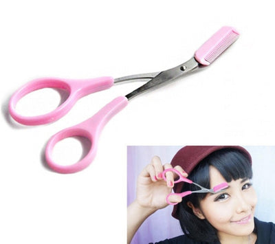 EYEBROW TRIMMING SCISSORS – EYEBROW SCISSORS WITH COMB