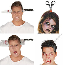Load image into Gallery viewer, Horror Halloween Party Headband