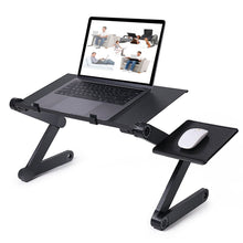 Load image into Gallery viewer, Adjustable Laptop Desk With Mouse Pad