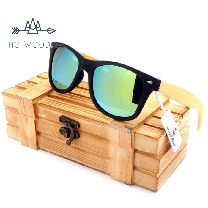 The Woodies - Lunettes de Soleil en bois - Bicolore - The Woodies