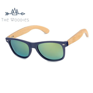 The Woodies - Lunettes de Soleil en Bois - Rétro Ovale - The Woodies