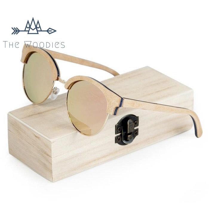 The Woodies - Lunettes de Soleil en Bois - Vintage - The Woodies