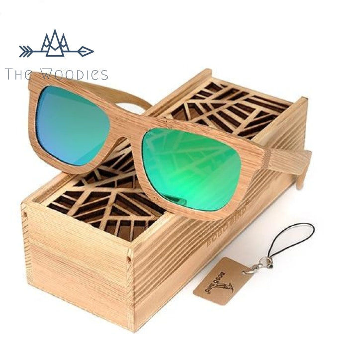 The Woodies - Lunettes de Soleil en Bois - Wayfarer - The Woodies