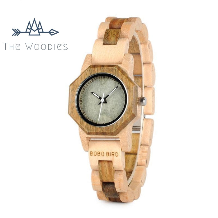 The Woodies - Montre en Bois Femme - Fine - The Woodies