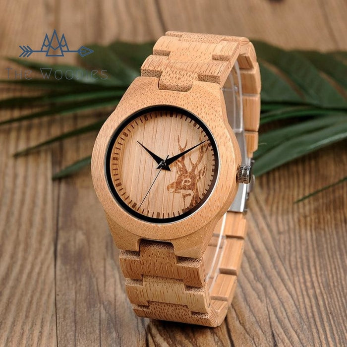The Woodies - Montre Femme en Bois - Cerf - The Woodies