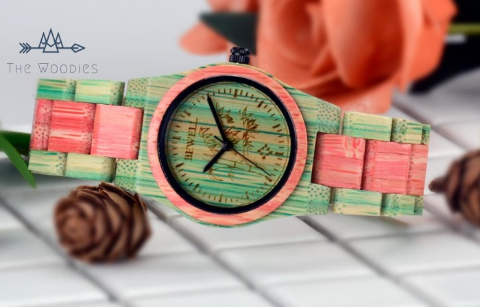 The Woodies - Montre Femme en Bois - Multicolor - The Woodies
