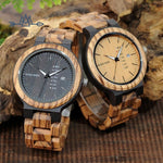 The Woodies - Montre Homme en Bois - Authentique - The Woodies