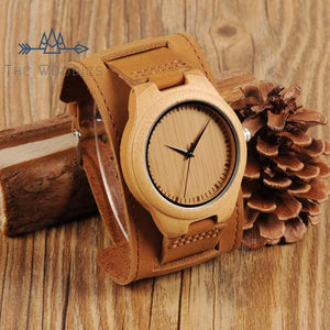Bracelet Montre The En Large Woodies Homme Bois Nvnm80wOyP