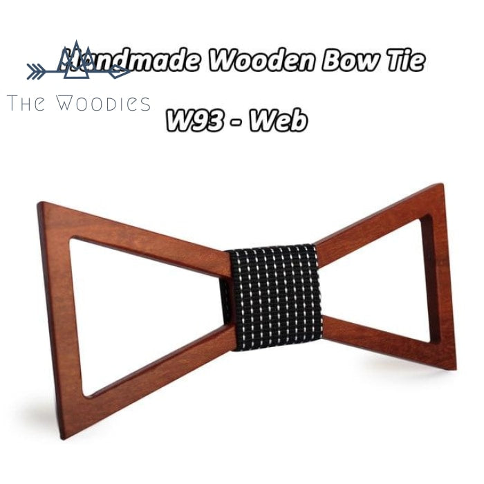 The Woodies - Noeud Papillon en Bois - Epuré Triangle - The Woodies