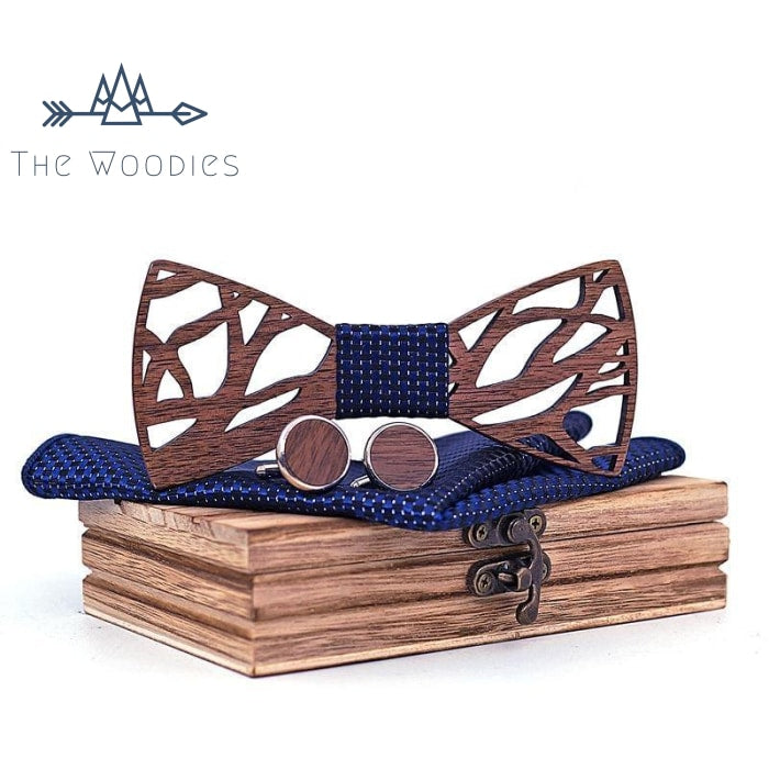 The Woodies - Noeud Papillon en bois - Kit Branche - The Woodies