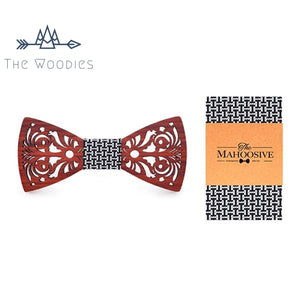 The Woodies - Noeud Papillon en Bois - Kit Original Motifs - The Woodies