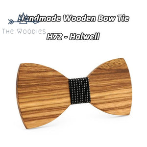 The Woodies - Nœud Papillon en Bois - Lasuré - The Woodies