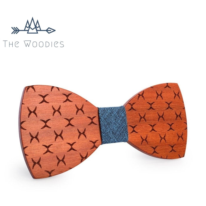 The Woodies - Noeud Papillon en Bois - Losange - The Woodies
