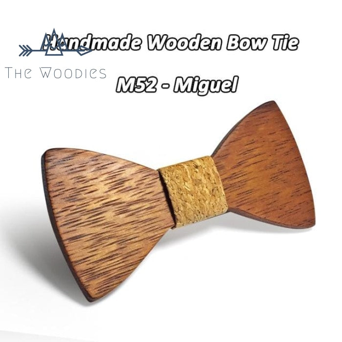 The Woodies - Noeud Papillon en Bois - Massif - The Woodies