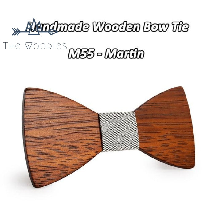 The Woodies - Noeud Papillon en Bois - Massif & Motif - The Woodies