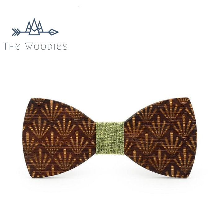 The Woodies - Noeud Papillon en Bois - Motif Ethnique - The Woodies