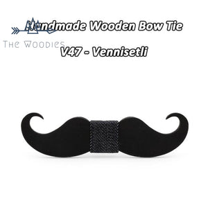 The Woodies - Nœud Papillon en Bois - Moustache - The Woodies
