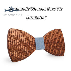 The Woodies - Noeud Papillon en bois - Pluie - The Woodies