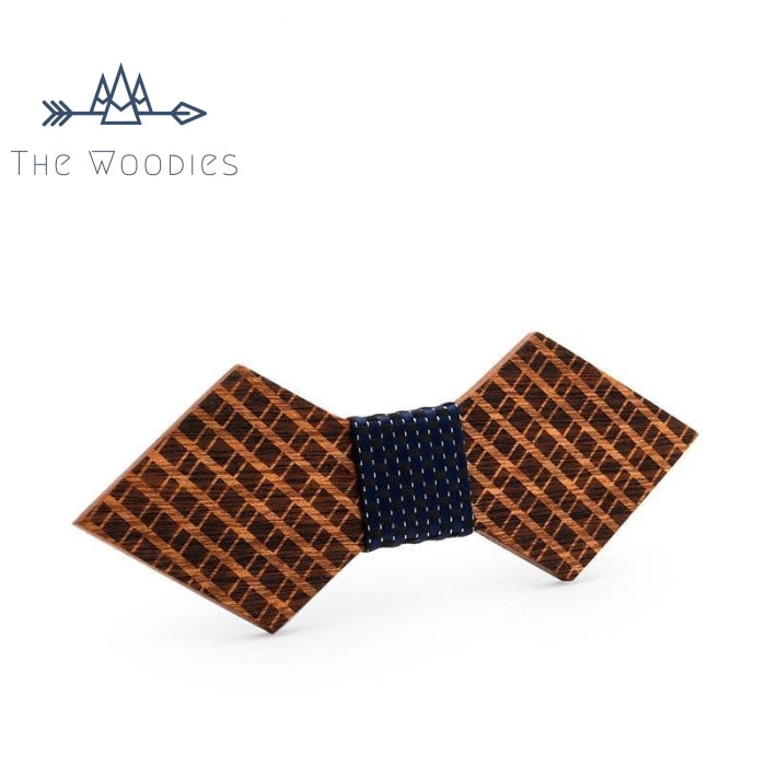 The Woodies - Noeud Papillon en Bois - Quadrillé - The Woodies