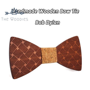 The Woodies - Noeud Papillon en Bois - strié - The Woodies