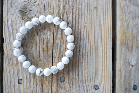 White Howlite - Karma by KJ