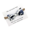 Bow - Navy Floral