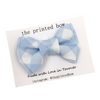 Bow Tie - Blue Plaid