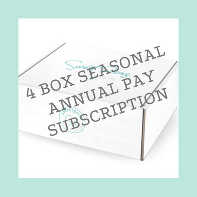 4-Box Seasonal Subscription - Annual Pay - SP Priority Member