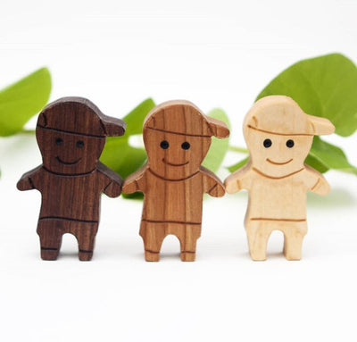 Diversity Wooden Doll Set - Proceeds to International Justice Mission