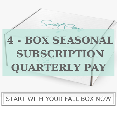 4-Box Seasonal Subscription - Quarterly Pay