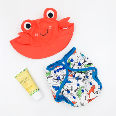 Summer Fun Bundle - Crab & Sharks