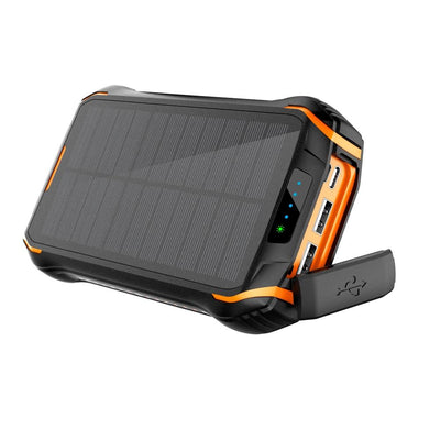 Portable Solar Power Bank 26800mAh - 26w Fast Charger - KEUTEK