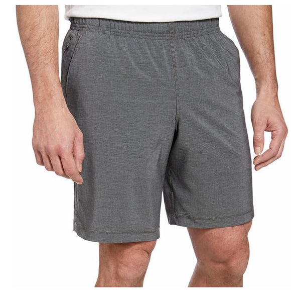 NWT Kirkland Signature Mens Moisture Wicking Active Shorts Grey Size M