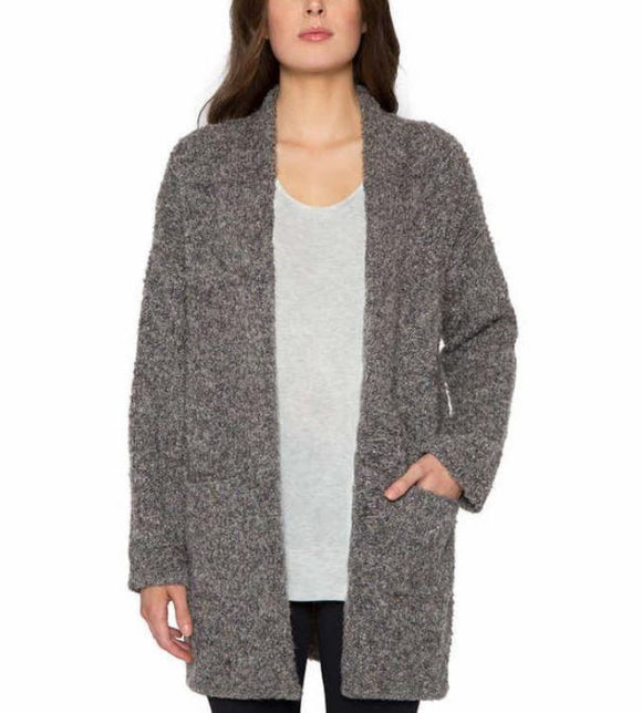 New Matty M Women's Oversized Open Front Knit Sweater Cardigan Size XS/S