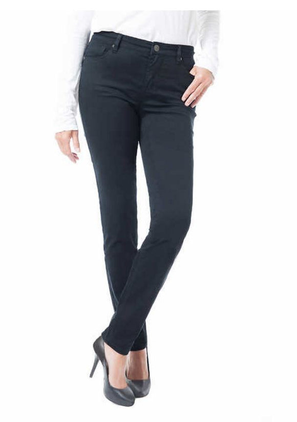 Buffalo David Bitton Ladies' Ankle Length Skinny Pant Black Size 12/32