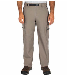 NWT BC Clothing Men's Lined Cargo Hiking Pants Khaki Size LX32
