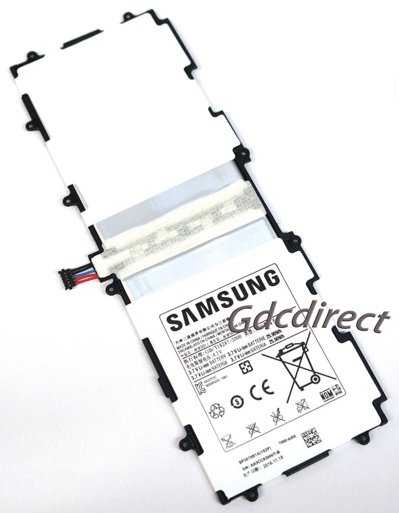 New Genuine SP3676B1A 1S2P Battery Samsung Galaxy Tab 2 P5100 P5110 P5113 7000mAh
